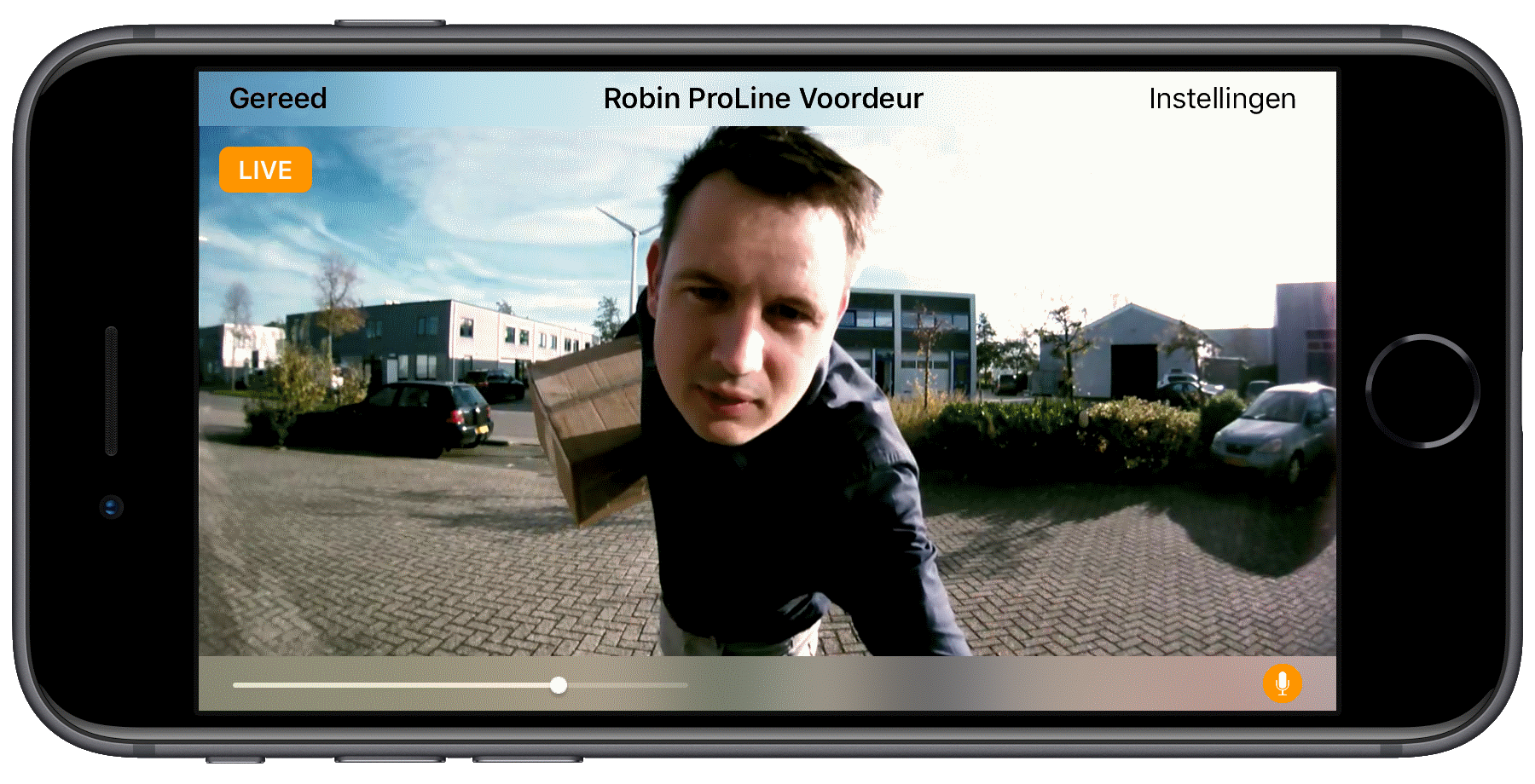 Deurbel Voor Iphone.Robin Ip Video Audio Intercoms Deurtelefoon Voor Toegangsbeveiliging